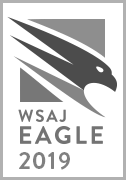 Pat Trudell-WSAJ-Eagle badge